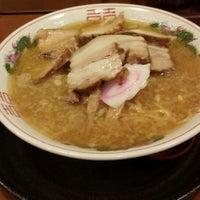 Photo taken at ラーメン 五誓 by お腹 ソ. on 5/10/2014