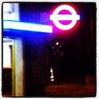 Photo taken at Latimer Road London Underground Station by Darren B. on 11/23/2012