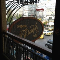 Photo taken at Θέατρον Cafe by Giota S. on 12/7/2012