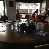 Photo taken at Θέατρον Cafe by Giota S. on 12/1/2012