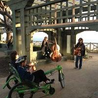 Photo taken at Pergola @ Palisades Park by Phil B. on 3/25/2013