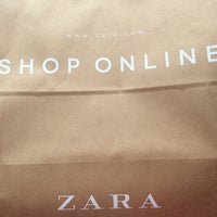 Photo taken at Zara by Daniela S. on 8/30/2014