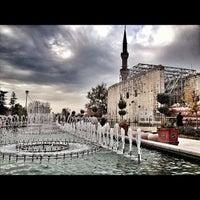 Photo taken at Hacı Bayram-ı Veli Camii by Mustafa K. on 12/1/2012