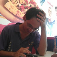 Photo taken at Domino's Pizza by Ganeshsan K. on 4/22/2014