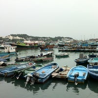 Photo taken at Cheung Chau by PY on 11/17/2012