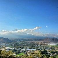 Photo taken at Capilla del Cerro de San Miguel by Ediel L. on 12/29/2013