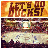 Photo taken at Honda Center by Mark G. on 5/9/2013