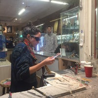 Photo taken at Hot Wax Glass by Helen P. on 2/27/2016