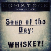 Photo taken at Comstock Saloon by Brief E. on 9/5/2013