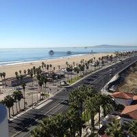 Photo taken at The Waterfront Beach Resort, a Hilton Hotel by Janneke B. on 11/10/2012