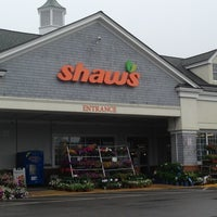 Photo taken at Shaw's by Peter S. on 6/11/2013