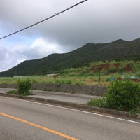 Photo taken at シンリ浜 by peko c. on 8/16/2015