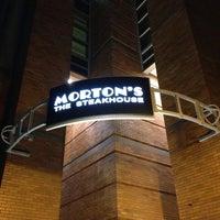 Photo taken at Mortons Steakhouse Seaport Boston by Jason M. on 1/11/2014