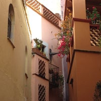 Photo taken at Callejón del Beso by Martha B. on 9/17/2012