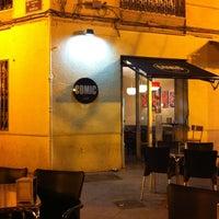 Photo taken at COMIC cafe by David S. on 5/11/2013