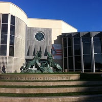 Photo taken at USF - Gleeson Library by Flora K. on 12/8/2012