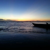 Photo taken at Praia de Jericoacoara by Brunna D. on 5/24/2013