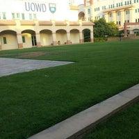 Photo taken at University of Wollongong in Dubai (UOWD) by Shreyas G. on 9/30/2015