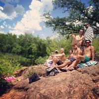 Photo taken at Devils Waterhole by Happy M. on 7/20/2013