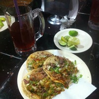 Photo taken at Taqueria Hermanos Luna by Uriel F. on 2/8/2013