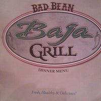 Photo taken at Bad Bean Baja Grille & Cantina by Jocelyn P. on 6/22/2013