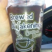 Photo taken at Brewed Awakenings by Cara C. on 3/29/2013