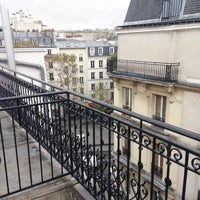Photo taken at 9Hotel Republique by Camila S. on 10/21/2016