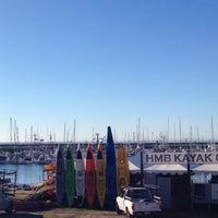 Photo taken at Half Moon Bay Kayak Co. by Corey S. on 10/12/2014
