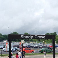 Photo taken at Shady Grove Metro | Bus Stops by Corey S. on 7/1/2013