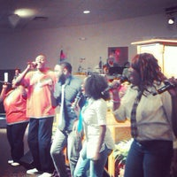 Photo taken at Antioch Missionary Baptist Church by Quianna G. on 12/16/2012