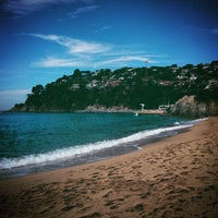 Photo taken at Canyelles Beach by Juanma on 5/3/2015