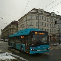 Photo taken at Konzervatoř (bus) by Dávid B. on 2/14/2018