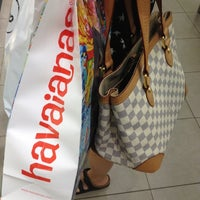 Photo taken at Havaianas by Malcolm on 9/29/2012