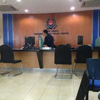 Photo taken at Bedok Police Division HQ / Bedok North Neighbourhood Police Centre by Malcolm on 4/6/2013