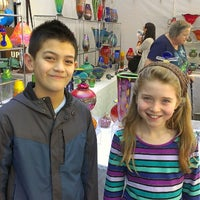 Photo taken at Bellevue Arts And Crafts Fair by Joe K. on 7/28/2013