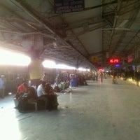 Photo taken at Bilaspur Railway Station by Karthik S. on 11/29/2012