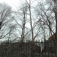 Photo taken at Salem Witch Trials Memorial by Abdiel N. on 3/18/2013