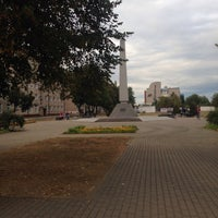 Photo taken at Стелла советским патриотам by Анастасия Б. on 9/3/2015
