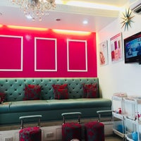Photo taken at Pretty Tipsy Nail & Waxing Salon by Maiza C. on 1/30/2018