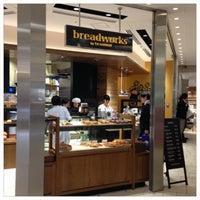 Photo taken at breadworks Tennoz by Satoshi M. on 5/8/2013
