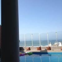 Photo taken at Casa de playa - Punta Negra by Raul Q. on 1/27/2013