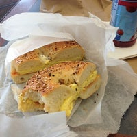 Photo taken at Forest Hills Bagels by Louis Philip R. on 4/4/2013