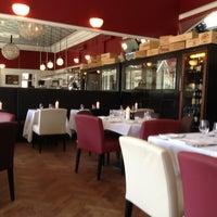 Photo taken at Hellerup Klub Brasserie by Fernando M. on 5/1/2013