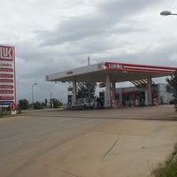 Photo taken at Lukoil by K S. on 4/8/2013