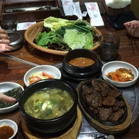 Photo taken at 포도식당 (ポド食堂) by T K. on 12/30/2016