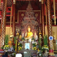 Photo taken at Wat Chiang Man by maew k. on 12/28/2012