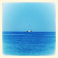 Photo taken at Spiaggia da Peppe by Maurizio I. on 7/17/2013