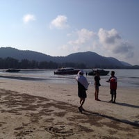 Photo taken at Kaw Kwang Beach Resort by Dif S. on 4/9/2014