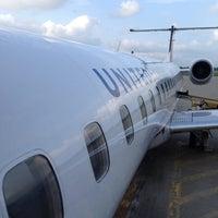 Photo taken at UA4245 to Newark by jon p. on 8/9/2014