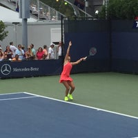 Photo taken at Court 7 - USTA Billie Jean King National Tennis Center by jon p. on 9/4/2015